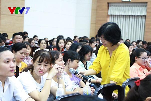 VTV7 và Cục Trẻ em phối hợp truyền thông giáo dục giới tính tại các khu công nghiệp TP.HCM - Ảnh 2.