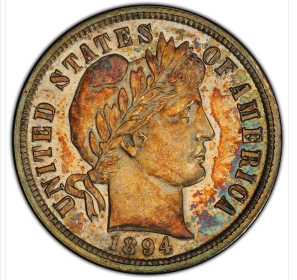 Kinh ngạc đồng tiền 10 xu được bán với giá 1,3 triệu USD - Ảnh 1.