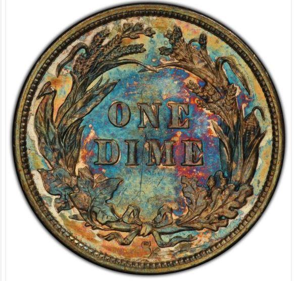 Kinh ngạc đồng tiền 10 xu được bán với giá 1,3 triệu USD - Ảnh 2.