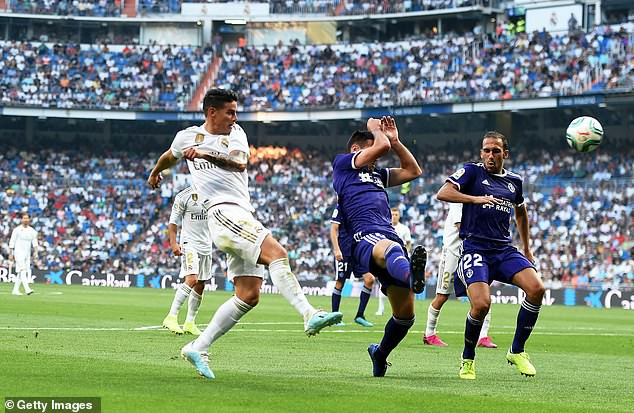 Real Madrid hòa thất vọng trước Real Valladolid - Ảnh 1.