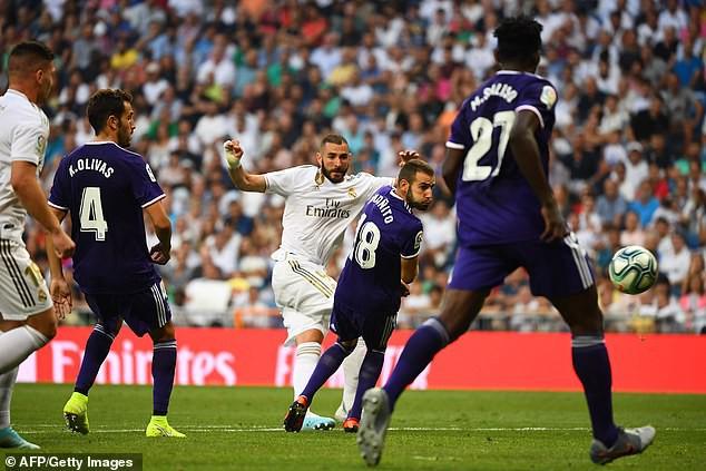 Real Madrid hòa thất vọng trước Real Valladolid - Ảnh 2.