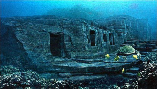 Kim tự tháp bí ẩn chìm dưới đáy biển - ảnh 2