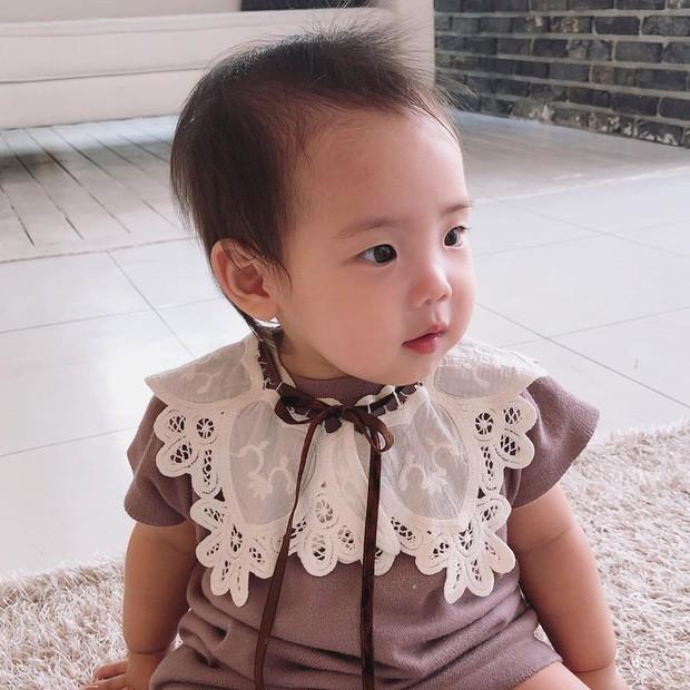 Con gái thứ nhà Eugene - Ki Tae Young lần đầu lộ diện - Ảnh 2.
