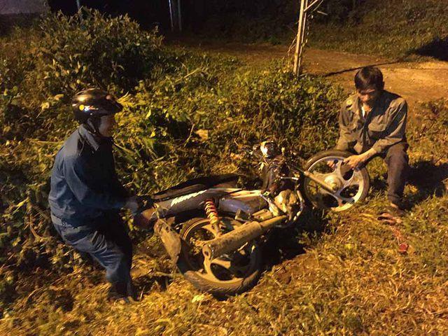 Xe máy tông liên hoàn ở Gia Lai, 5 người thương vong - Ảnh 1.