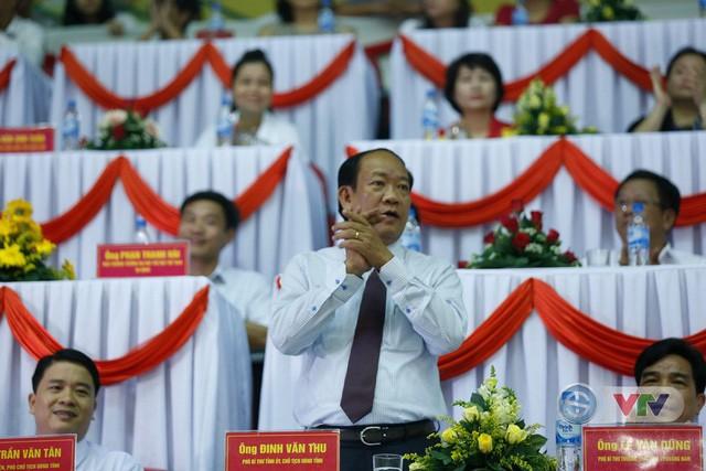 Ảnh: Những khoảnh khắc ấn tượng trong Lễ khai mạc Giải bóng chuyền nữ Quốc tế VTV Cup Tôn Hoa Sen 2019 - Ảnh 12.
