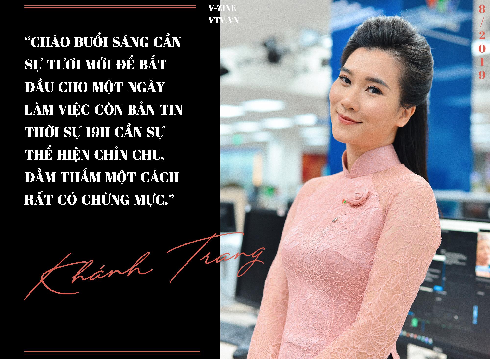 BTV Khánh Trang: Trở về Bản tin Thời sự 19h là sự trở về tràn đầy tự tin và năng lượng - Ảnh 4.