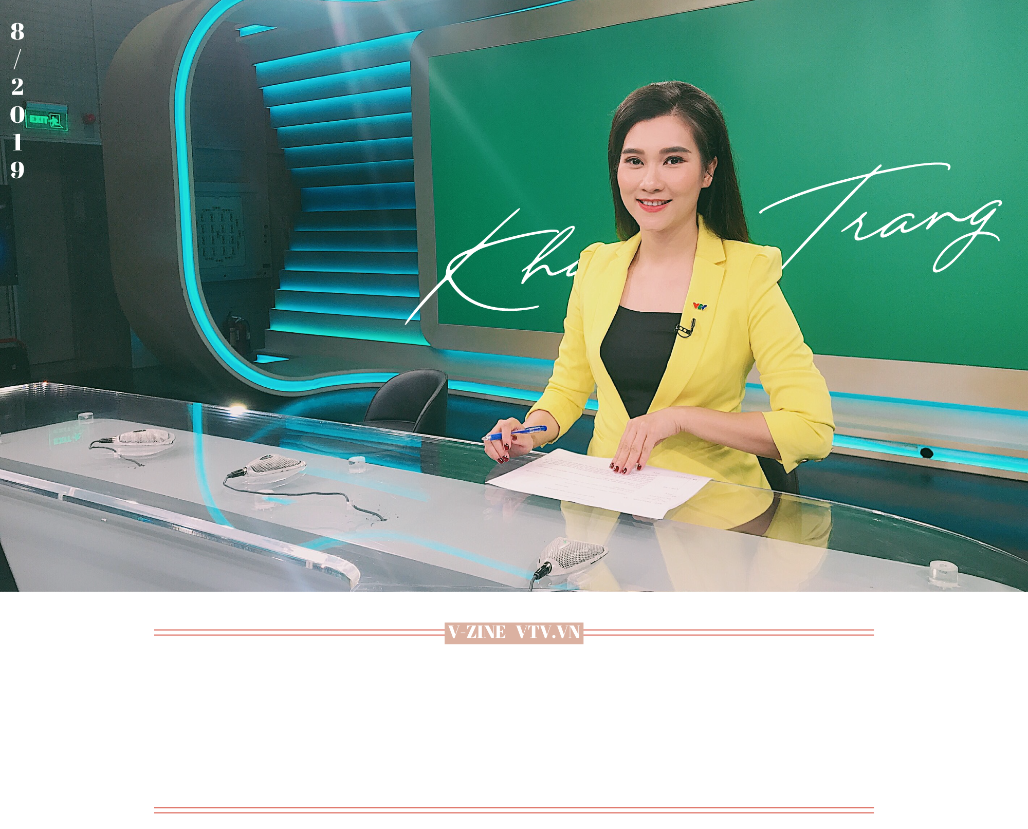 BTV Khánh Trang: Trở về Bản tin Thời sự 19h là sự trở về tràn đầy tự tin và năng lượng - Ảnh 19.