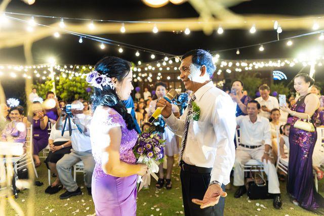 Đám cưới đặc biệt của người mẹ U60 được con gái đăng tin tuyển chồng ở Thanh Hóa - Ảnh 3.