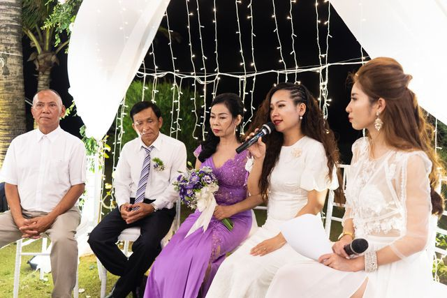 Đám cưới đặc biệt của người mẹ U60 được con gái đăng tin tuyển chồng ở Thanh Hóa - Ảnh 4.