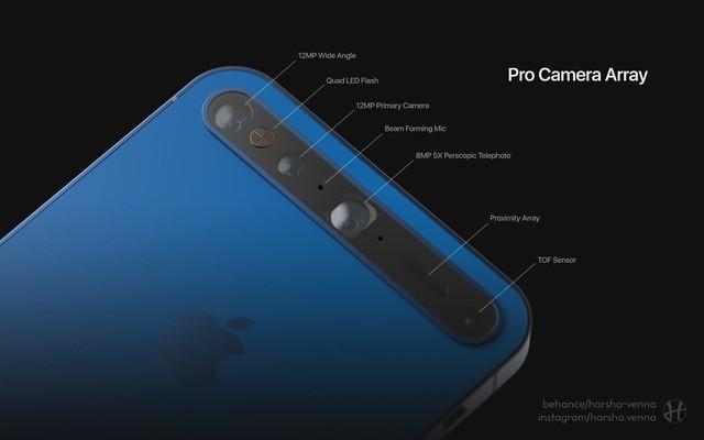 Ý tưởng iPhone 11 đẹp long lanh khiến các Apple fan thèm muốn - Ảnh 3.