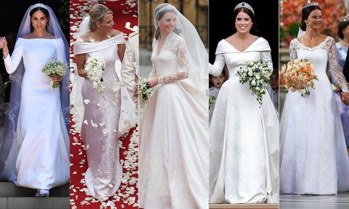 Xu hướng váy cưới và sự thay đổi của thời trang trong 100 năm qua - Ảnh 12.
