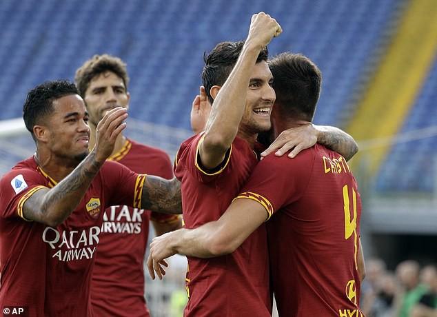 AS Roma có chiến thắng đầu tiên tại Serie A - Ảnh 1.