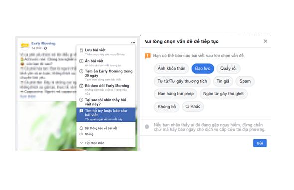 Tất tần tật về tính năng Report trên Facebook - ảnh 1