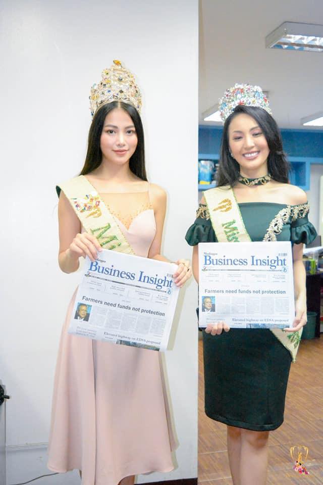 """Hoa hậu Trái đất Phương Khánh đẹp """"hút hồn"""" phủ sóng truyền thông Philippines - Ảnh 7."""