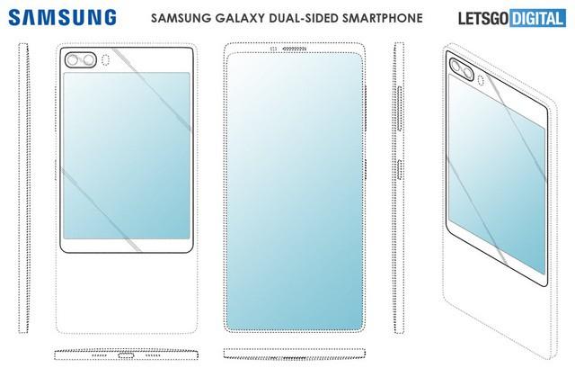 Samsung sẽ trang bị kiểu thiết kế 2 màn hình độc đáo cho Galaxy S11? - Ảnh 1.