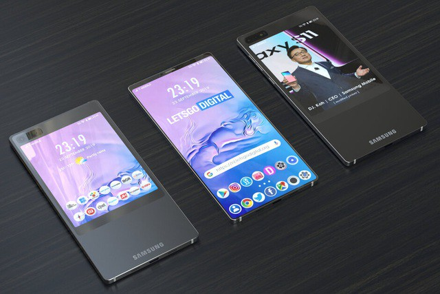 Samsung sẽ trang bị kiểu thiết kế 2 màn hình độc đáo cho Galaxy S11? - Ảnh 2.