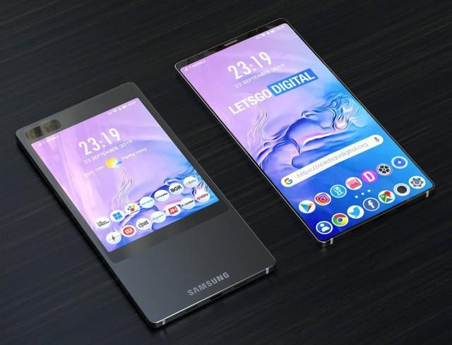 Samsung sẽ trang bị kiểu thiết kế 2 màn hình độc đáo cho Galaxy S11? - Ảnh 3.