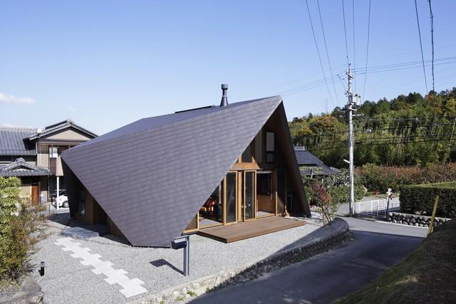 """Mê mẩn ngôi nhà ở vùng quê Nhật Bản lấy cảm hứng từ """"Origami"""" - Ảnh 1."""
