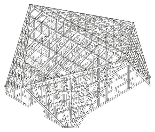 """Mê mẩn ngôi nhà ở vùng quê Nhật Bản lấy cảm hứng từ """"Origami"""" - Ảnh 2."""