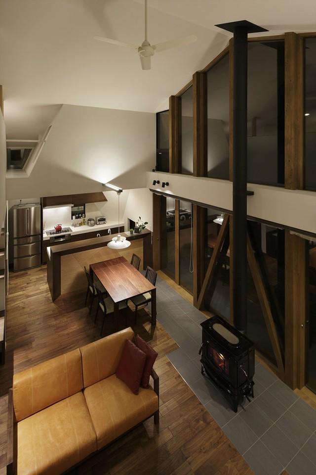 """Mê mẩn ngôi nhà ở vùng quê Nhật Bản lấy cảm hứng từ """"Origami"""" - Ảnh 12."""