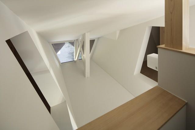 """Mê mẩn ngôi nhà ở vùng quê Nhật Bản lấy cảm hứng từ """"Origami"""" - Ảnh 13."""