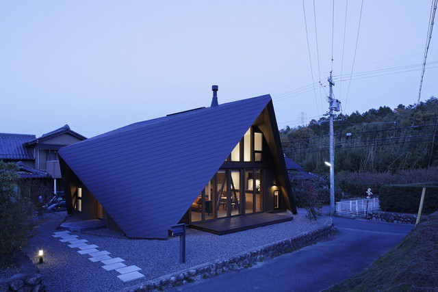 """Mê mẩn ngôi nhà ở vùng quê Nhật Bản lấy cảm hứng từ """"Origami"""" - Ảnh 17."""