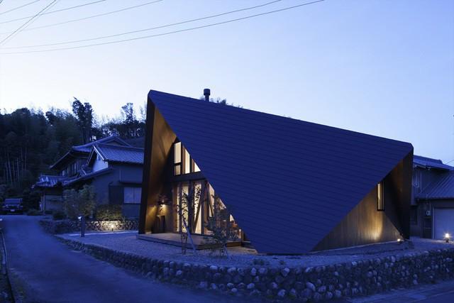 """Mê mẩn ngôi nhà ở vùng quê Nhật Bản lấy cảm hứng từ """"Origami"""" - Ảnh 19."""
