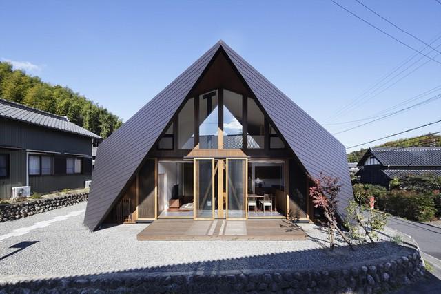 """Mê mẩn ngôi nhà ở vùng quê Nhật Bản lấy cảm hứng từ """"Origami"""" - Ảnh 4."""