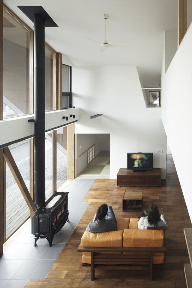 """Mê mẩn ngôi nhà ở vùng quê Nhật Bản lấy cảm hứng từ """"Origami"""" - Ảnh 6."""