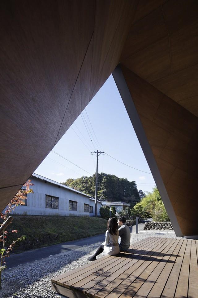 """Mê mẩn ngôi nhà ở vùng quê Nhật Bản lấy cảm hứng từ """"Origami"""" - Ảnh 9."""