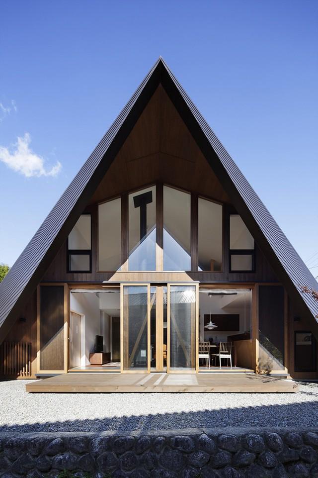 """Mê mẩn ngôi nhà ở vùng quê Nhật Bản lấy cảm hứng từ """"Origami"""" - Ảnh 10."""