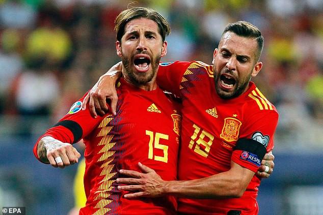 Tây Ban Nha toàn thắng tại vòng loại Euro 2020 - Ảnh 1.