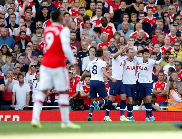Những khoảnh khắc chia điểm giữa Arsenal và Tottenham  - Ảnh 10.