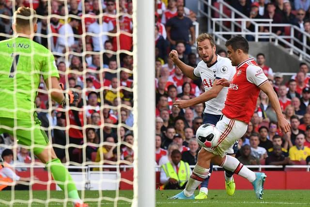 Những khoảnh khắc chia điểm giữa Arsenal và Tottenham  - Ảnh 19.