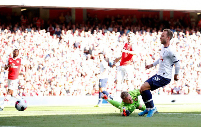Những khoảnh khắc chia điểm giữa Arsenal và Tottenham  - Ảnh 9.