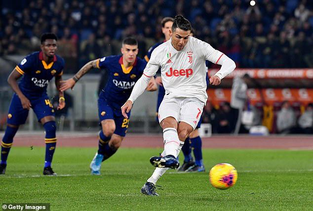 Roma 1-2 Juventus: Ronaldo lập công, Juventus trở lại ngôi đầu Serie A - Ảnh 2.