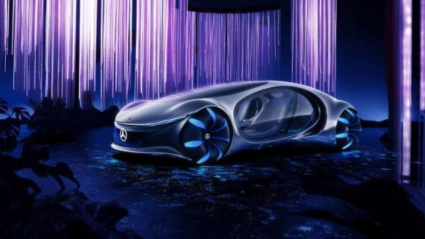 Mercedes-Benz giới thiệu xe hơi không vô lăng - Ảnh 1.