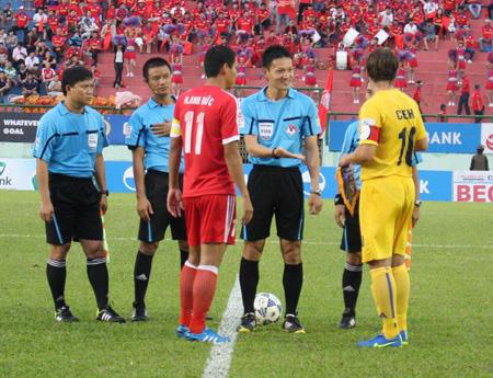 Trọng tài trận U23 Việt Nam và U23 Jordan từng bắt chính ở V.League - Ảnh 1.