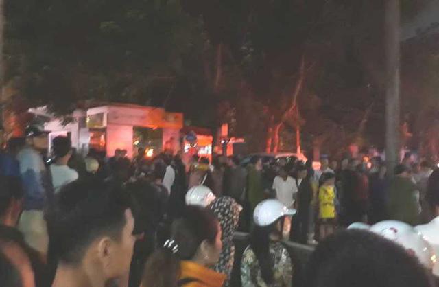 Thanh Hóa: Cháy lớn tại tòa nhà dầu khí, nhiều người mắc kẹt, 1 người chết - ảnh 1