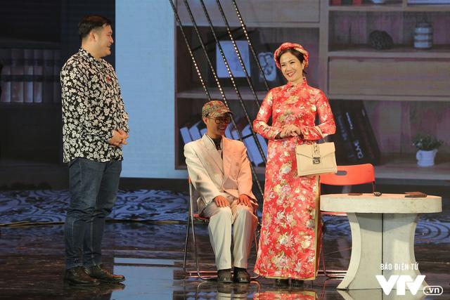 Gala cười 2020: Nguyệt Hằng dẫn chồng khờ đi hỏi vợ cho con trai - Ảnh 9.