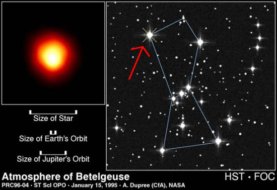 Một trong những ngôi sao sáng nhất bầu trời có thể sẽ nổ tung? - Ảnh 1.