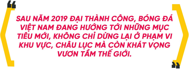 Bóng đá Việt Nam 2020: Quyết tâm giữ ngai Vàng Đông Nam Á và bơi ra biển lớn - Ảnh 1.