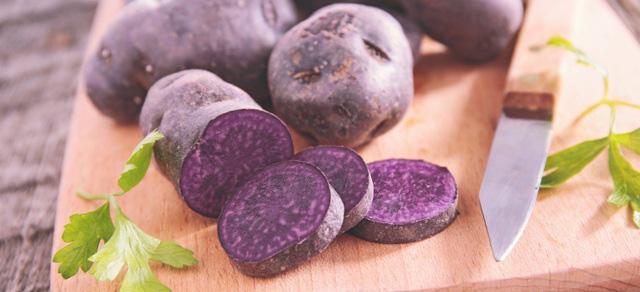 Bất ngờ với công dụng phòng ung thư, giảm huyết áp của khoai tây tím - Ảnh 1.