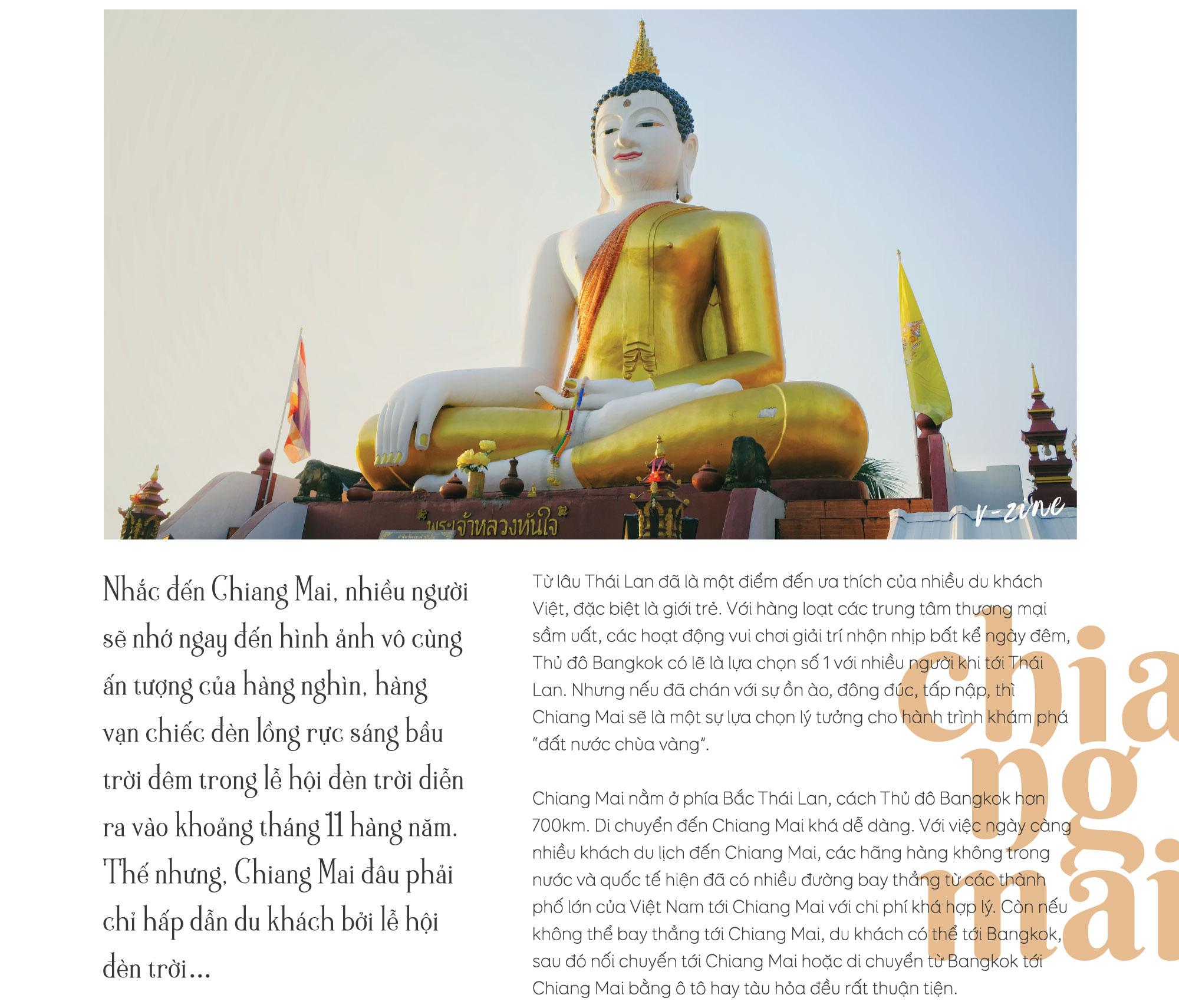 Ngoài lễ hội đèn trời, Chiang Mai còn có gì hấp dẫn du khách? - Ảnh 1.