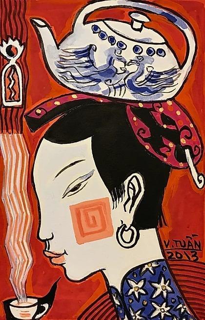 Talk cùng họa sĩ Vũ Đình Tuấn với chủ đề Đẹp - Xấu trong nghệ thuật tạo hình - Ảnh 3.
