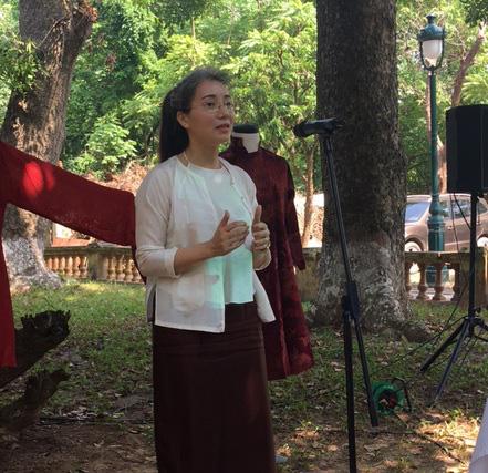 Những NTK dành nhiều tâm huyết cho áo dài Việt - Ảnh 4.