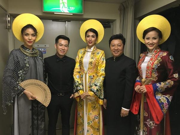 Những NTK dành nhiều tâm huyết cho áo dài Việt - Ảnh 6.
