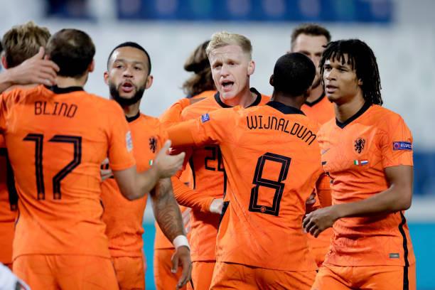 Kết quả UEFA Nations League sáng 15/10: Italia mất ngôi đầu, ĐT Anh nhận thất bại bất ngờ - Ảnh 2.