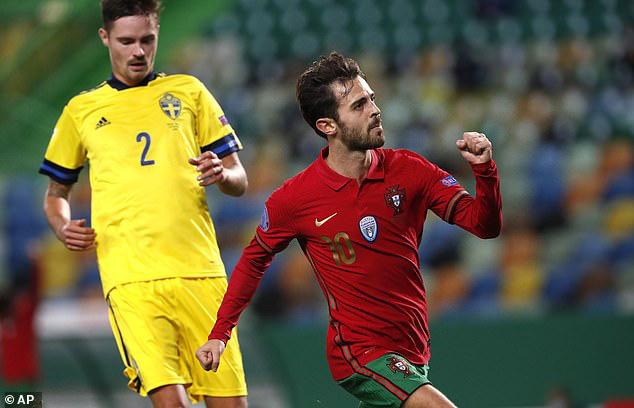 Vắng Ronaldo, Bồ Đào Nha vẫn xây chắc ngôi đầu (UEFA Nations League 2020/21) - Ảnh 3.