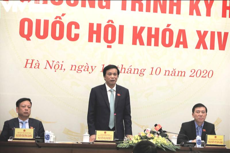 Hôm nay (20/10), khai mạc Kỳ họp thứ 10 Quốc hội khóa XIV bằng hình thức họp trực tuyến - Ảnh 3.